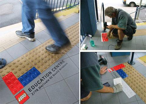 stickers publicitaires