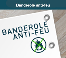 Banderole anti-feu