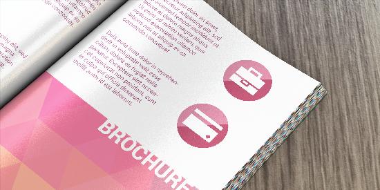 Impression brochure dos carré collé