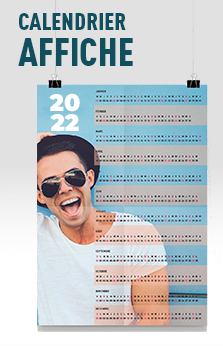 affiche calendrier