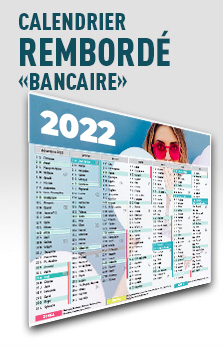 calendrier bancaire exemple