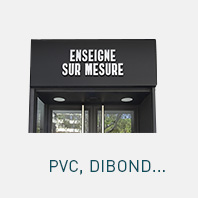 Panneaux rigides : pvc et dibond