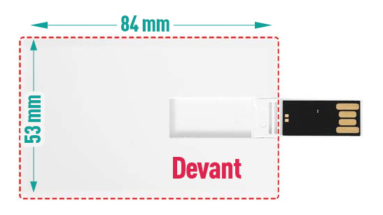 Cle USB Carte De Credit Slim