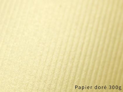 Impression sur papier Doré