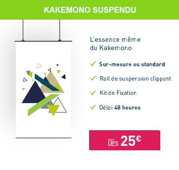 Kakemono Suspendu