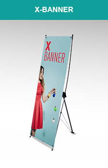 X banner