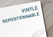 Sticker repositionnable