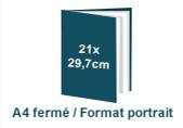 brochure A4 à la française
