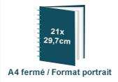 brochure wire o A4 à la française