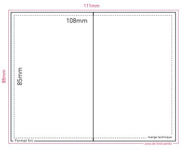 la carte de visite simple ou double. Black Bedroom Furniture Sets. Home Design Ideas