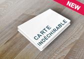 Carte synthétique indéchirable