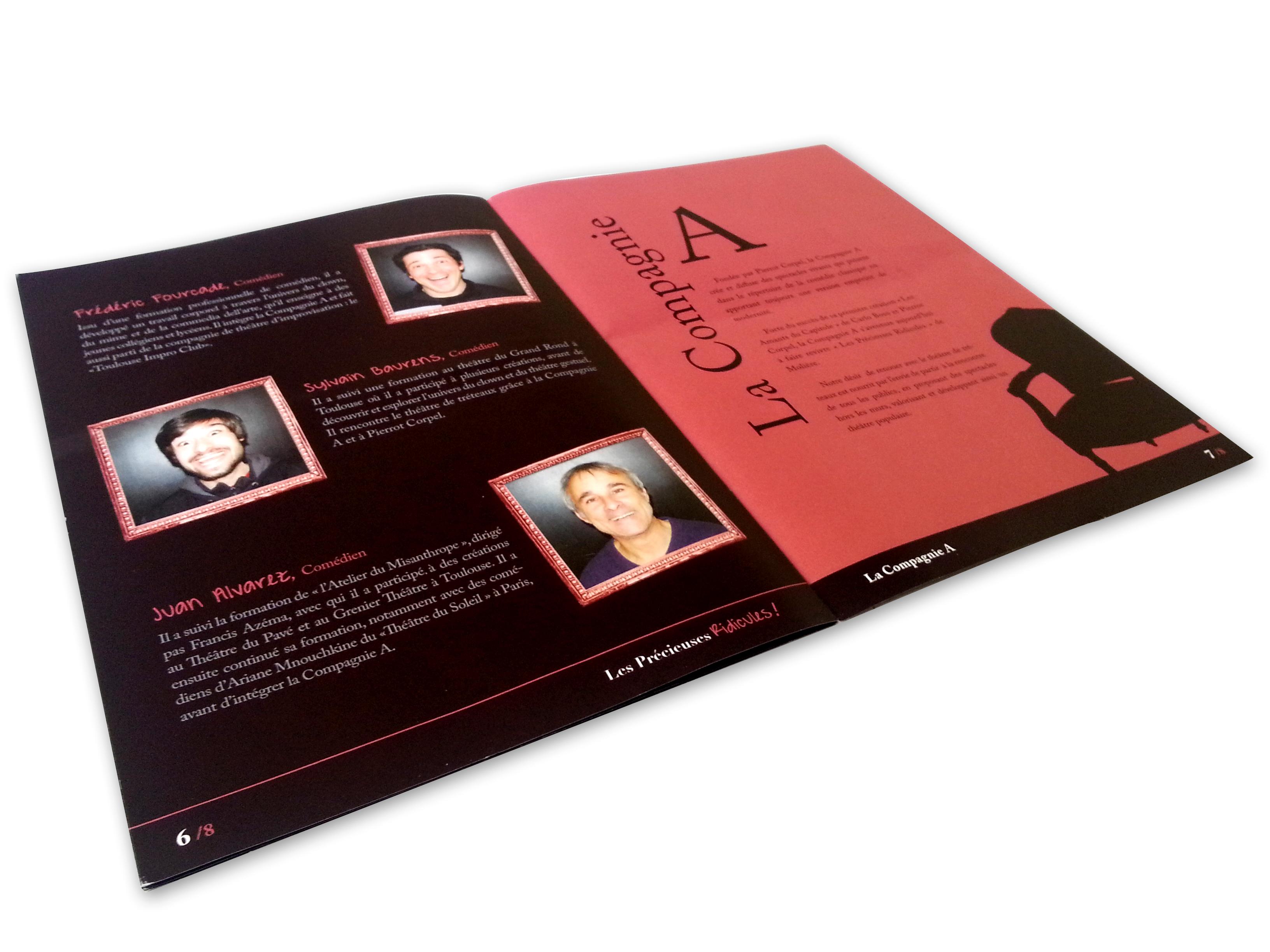 brochure imprimée par printshot