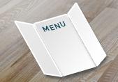imprimer carte de restaurant