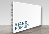 Impression banner pop up