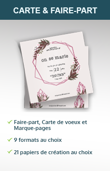 Cartes et faire-part