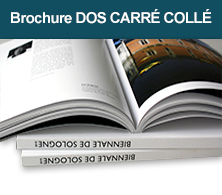 impression catalogue dos carre colle
