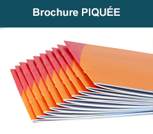 impression brochure piqure à cheval