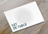 imprimer dessous de table