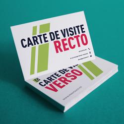 Carte De Visite Recto Verso