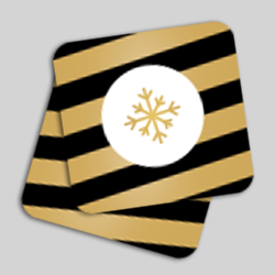 carte de voeux coins ronds