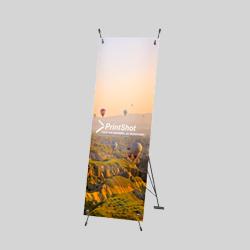 x banner 60x160 cm