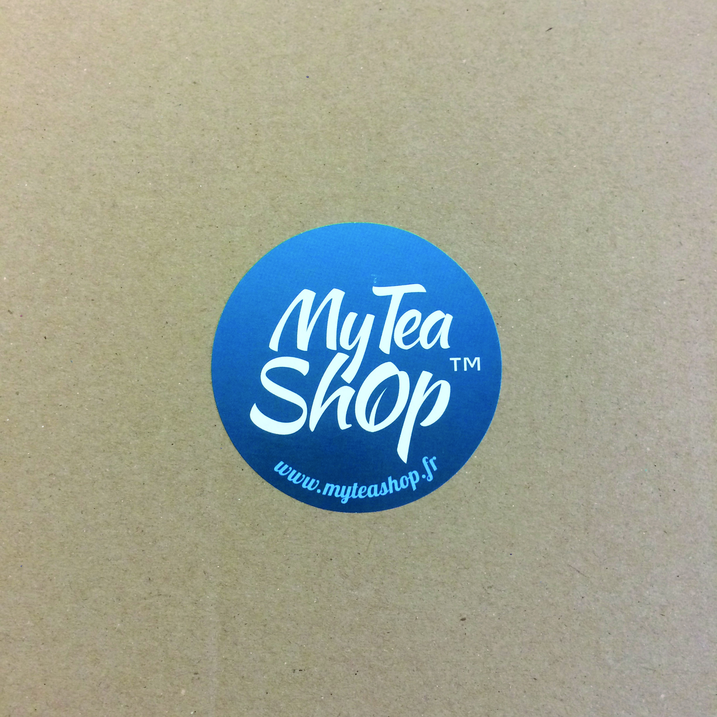 Sticker rond myteashop