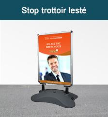 stop trottoir lesté